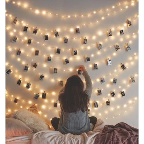 Dây đèn trang trí phòng ngủ - Fairy - 5m - 5601917 , 9452412 , 15_9452412 , 125000 , Day-den-trang-tri-phong-ngu-Fairy-5m-15_9452412 , sendo.vn , Dây đèn trang trí phòng ngủ - Fairy - 5m