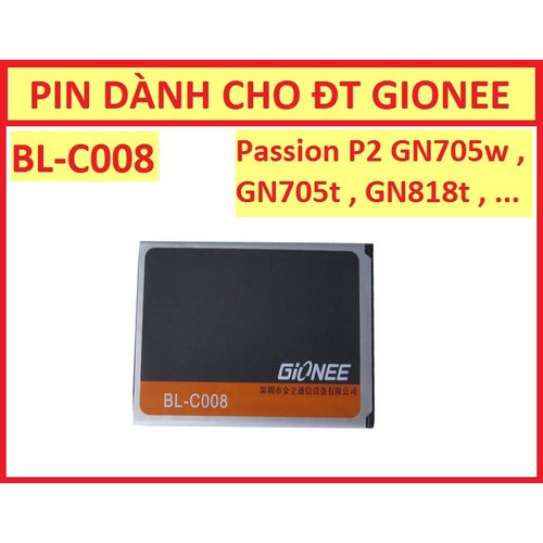 PIN GIONEE PASSION P2