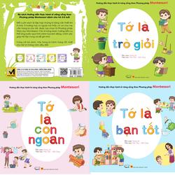 Combo 3 sách kỹ năng sống phương pháp Montessori Bé ngoan, giỏi, tốt