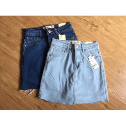 quần giả váy jean