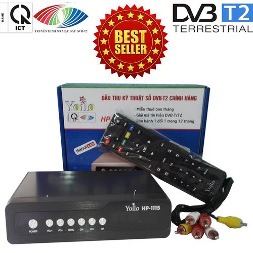 Đầu thu kỹ thuật số SET TOP BOX DVB-T2 HP-1115
