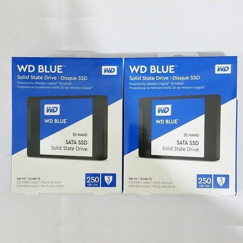 Ổ cứng SSD Western WD Blue 2.5 inch SATA3 250GB  - bảo hành 3 năm