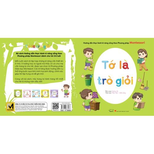 Sách thực hành kĩ năng sống phương pháp Montessori- Tớ là trò giỏi