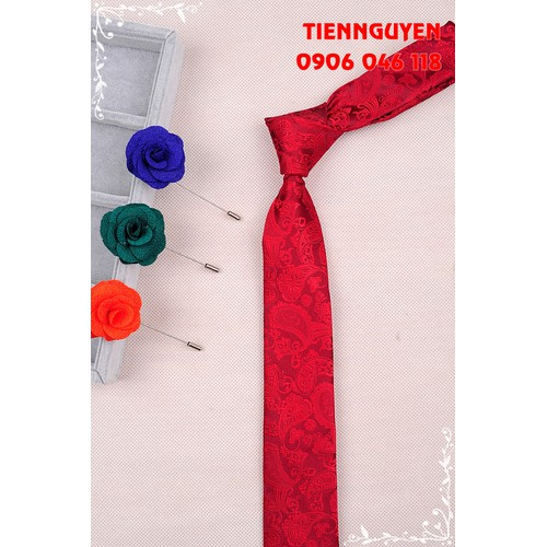 Cà vạt nam bản nhỏ 5cm - cavat nam cao cấp