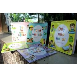 Combo 5 sách kỹ năng Montessori phương pháp thực hành cho bé