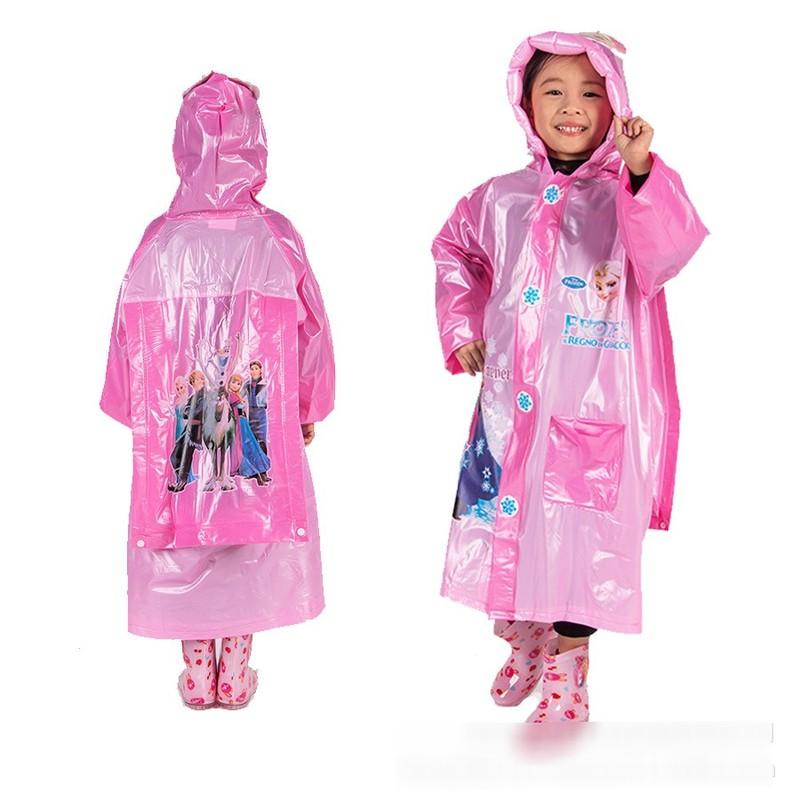 Áo mưa cho bé trai và bé gái 5