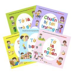 Bộ 5 sách kỹ năng sống thực hành theo phương pháp Montessori -5 chủ đề