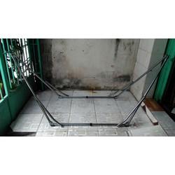Khung võng xếp inox xi Ban Mai
