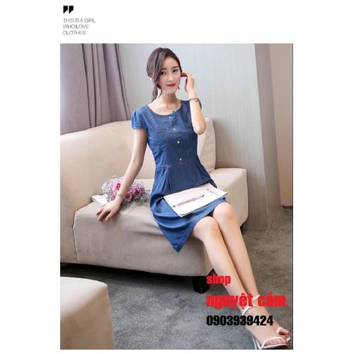 470 Đầm jean