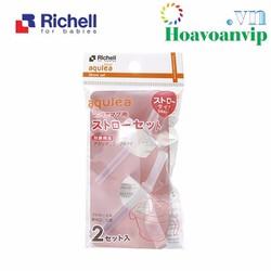 Ống Hút Thay Thế Cho Cốc Tập Uống 3 Giai Đoạn Richell RC41080 - 2 cái