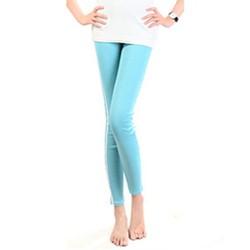 quần legging nữ viền 2 sọc Mã: QB438 - XANH LÁ