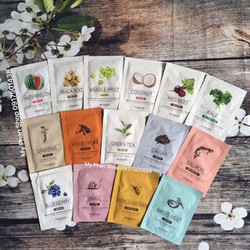 Combo mix 10 miếng Mặt nạ Skin Food Beauty In A Food Mask Sheet.