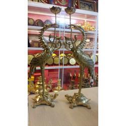 Đôi hạc thờ cúng 50cm