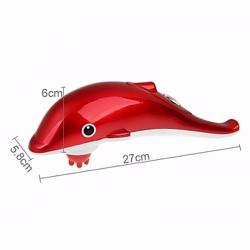 Máy Massage Hình Con Cá Heo Mini - GDLR01 Màu Đỏ