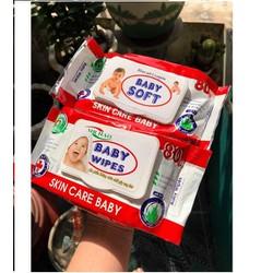 Combo 5 gói khăn giấy ướt Baby