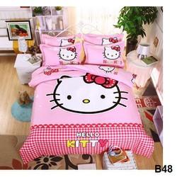 Bộ chăn ga gối giường 1m2-m4-m6x2m kèm ruột chăn bông
