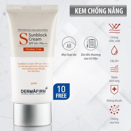 Kem chống nắng Dermafirm Hàn Quốc