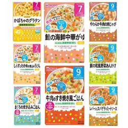 Cháo tươi, nui, mì Ý ăn liền Wakodo Nhật cho bé 7m,9m gói 80g