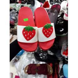 combo 2 đôi dép hoa quả cực cute