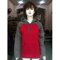 Áo hoodie raglan nữ tay dài TK060