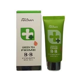 Kem nền đa năng trà xanh Mira AROMA Prime green tea BB cream - M-016