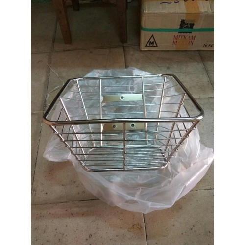 rổ wave inox cho xe dr wave rs