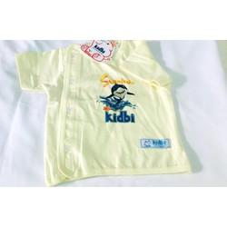 Áo Cài Chéo Kidbi Cho bé 0-12 tháng tuổi - màu Vàng