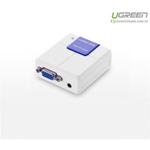 Bộ chuyển đổi VGA to HDMI chính hãng Ugreen 40224 cao cấp - 5608367 , 9466290 , 15_9466290 , 650000 , Bo-chuyen-doi-VGA-to-HDMI-chinh-hang-Ugreen-40224-cao-cap-15_9466290 , sendo.vn , Bộ chuyển đổi VGA to HDMI chính hãng Ugreen 40224 cao cấp