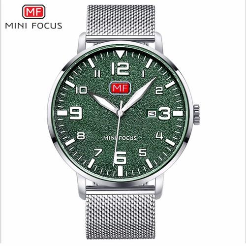 Đồng hồ thời trang nam Mini Focus MF0158G.07 dây kim loại - màu bạc