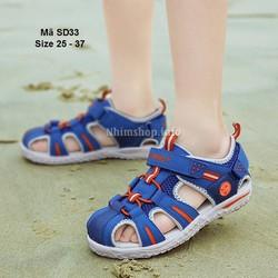 Giày sandal cho bé trai Rabit - dép học sinh nam đi học đi chơi SD33