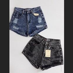 Quần short jean lưng cao GR4.12
