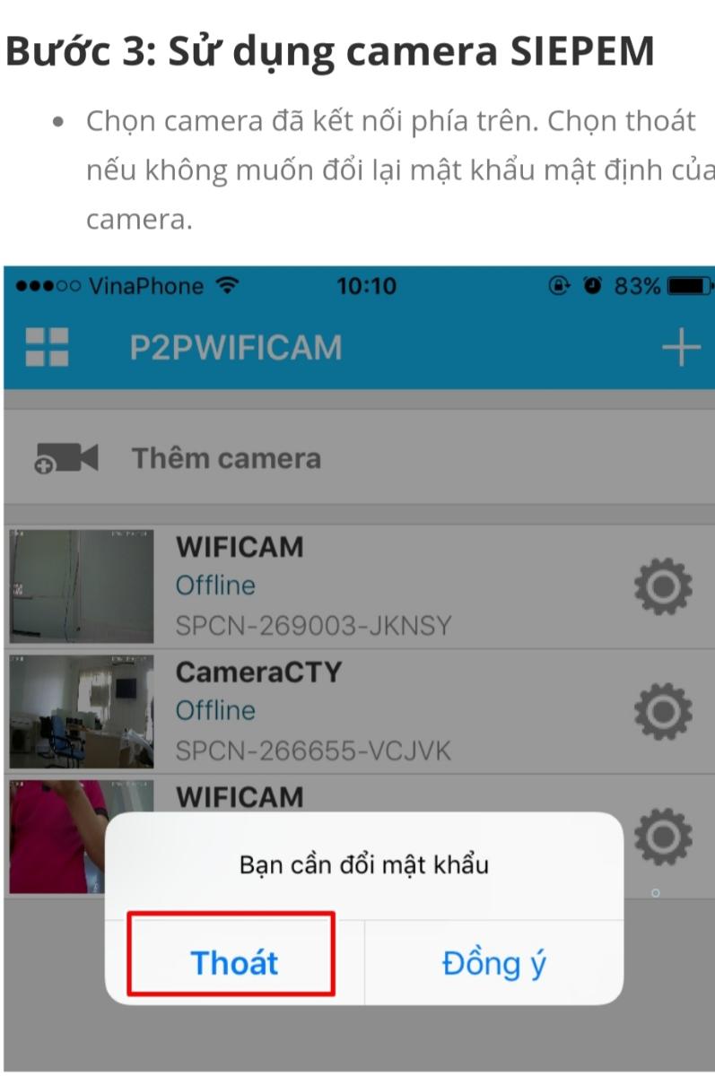 CAMERA WIFI SIEPEM S6265F 10