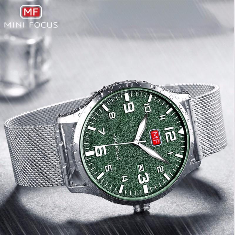 Đồng hồ thời trang nam Mini Focus MF0158G.08 dây kim loại - màu đen 6