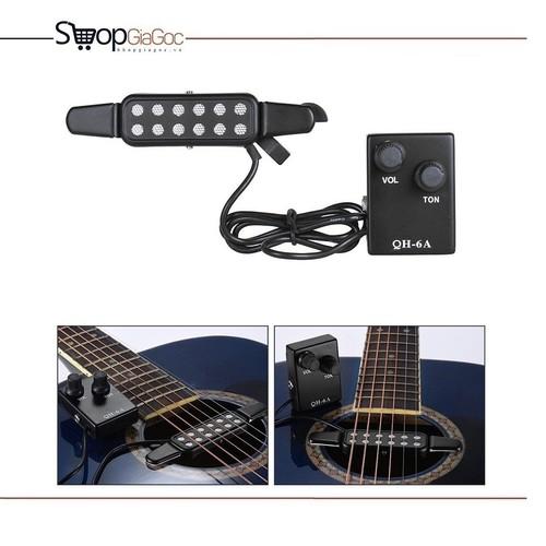 Pickup Đàn Acoustic Guitar QH-6A - Bộ thu âm Guitar