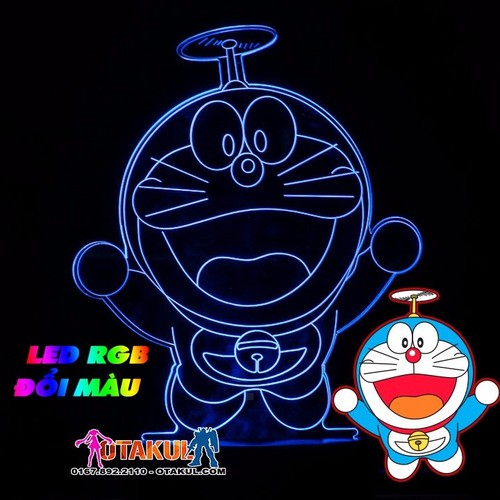 Đèn Ngủ Doraemon - LED RGB