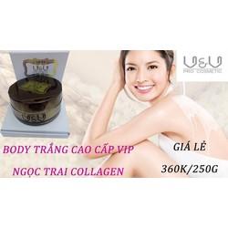 Kem Body VIP Collagen Whitening Body Cream V-V Chống Nắng, Lão Hóa