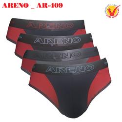 Combo 4 Quần lót nam Cao Cấp ARENO _ AR-409 Thun lạnh Lưng bóng