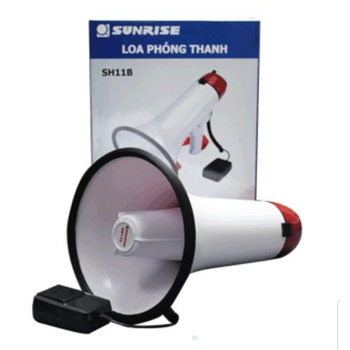 Loa phát thanh cầm tay Sunrise SH-11B có sạc điện thu tiếng