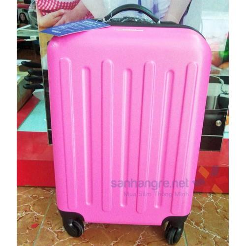 Vali du lịch xách tay có khóa sốLock and Lock Travel Zone - Màu hồng