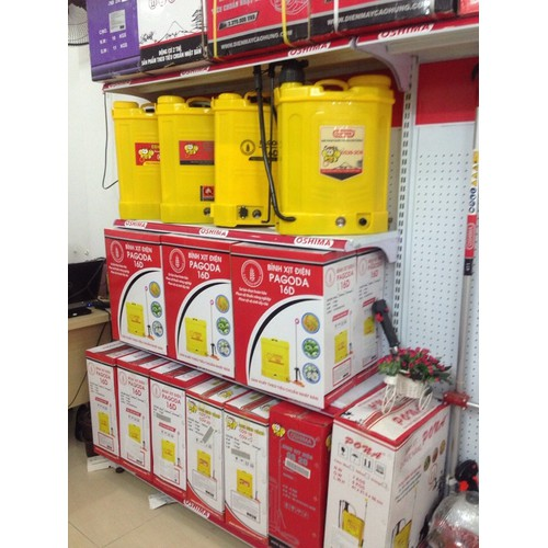 Bình xịt điện, bình phun thuốc khử trùng Pagoda 16 lít
