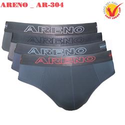 Combo 4 Quần lót nam Cao Cấp ARENO _ AR-304 Lưng Bóng Thun Lạnh