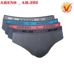 Combo 4 Quần lót nam Cao Cấp ARENO _ AR-202 Lưng Dệt Thun Lạnh