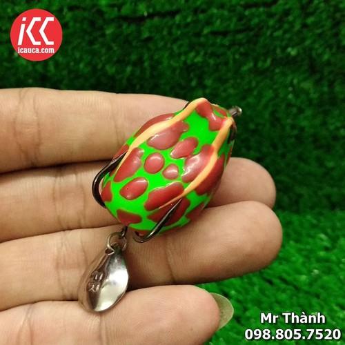 HD Bull frog Mồi nhai giả câu lure cá lóc hiệu quả Thái Lan - 4436015 , 9489849 , 15_9489849 , 130000 , HD-Bull-frog-Moi-nhai-gia-cau-lure-ca-loc-hieu-qua-Thai-Lan-15_9489849 , sendo.vn , HD Bull frog Mồi nhai giả câu lure cá lóc hiệu quả Thái Lan