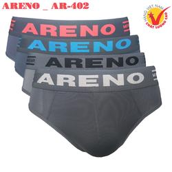 Combo 4 Quần lót nam Cao Cấp ARENO _ AR-402 Lưng Dệt Thun Lạnh