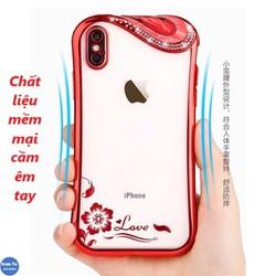 Ốp Lưng Đính Đá Cẩm Thạch iPhone 6 Plus, 6s Plus