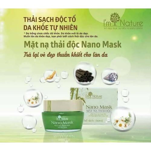 mặt nạ thải độc nano mask