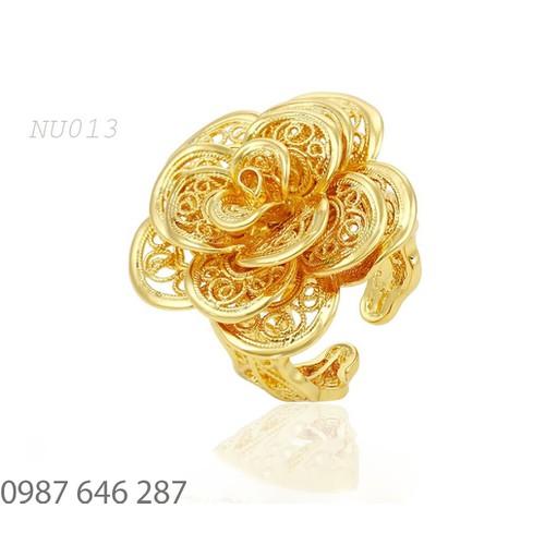 Nhẫn Nữ NU013 Trang sức nữ cao cấp, Phụ kiện nữ bền màu sản phẩm được bảo hành trọn đời.
