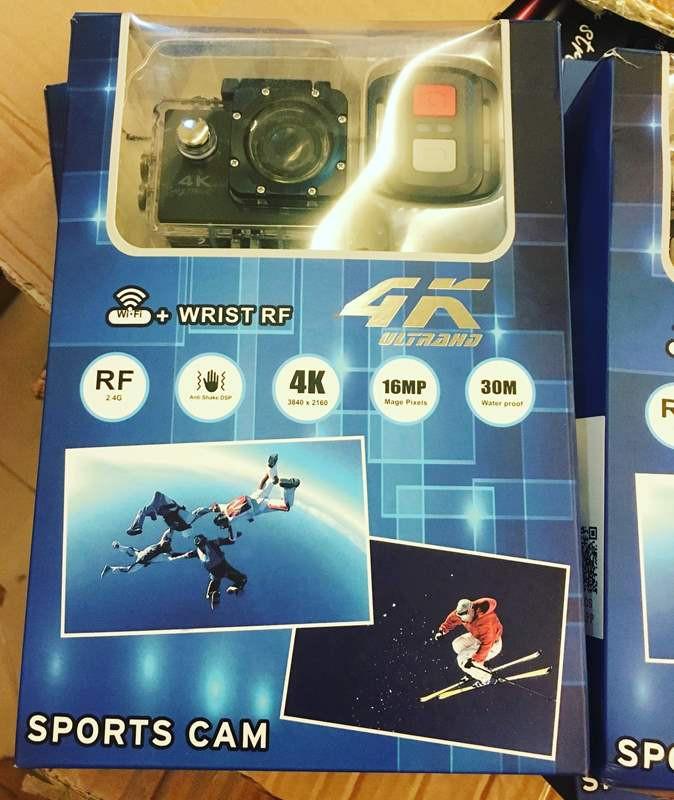 Camera hành trình, hành động Sport cam Wifi 4K ULTRA HD chống rung 14