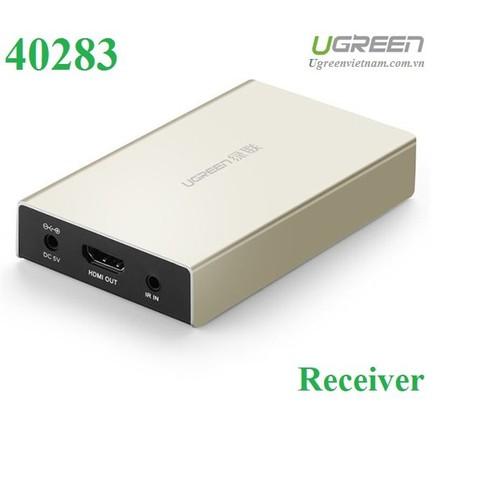 Thiết bị nhận tín hiệu HDMI 120M qua cáp mạng RJ45 Ugreen 40283