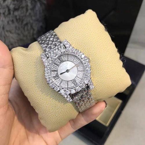 đồng hồ nữ mặt tròn thời trang